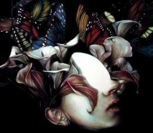 "Artwork by Marco Mazzoni ""Ignis Fatuus"" 2011,"