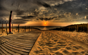 sunset-and-sandy-beach