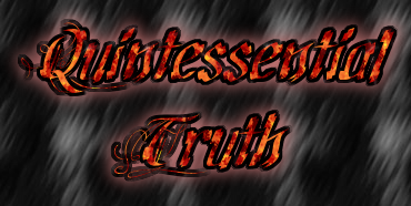 Quintessential Truth #32 – Just A Four-Letter Word